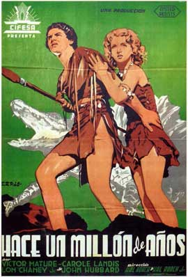 One Million B.C. - 11 x 17 Movie Poster - Spanish Style A
