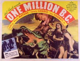 One Million B.C. - 11 x 14 Movie Poster - Style A