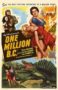 One Million B.C. - 43 x 62 Movie Poster - Bus Shelter Style A