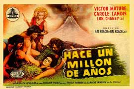 One Million B.C. - 11 x 17 Movie Poster - Spanish Style C