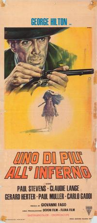 One more to Hell - 39 x 55 Movie Poster - Italian Style A
