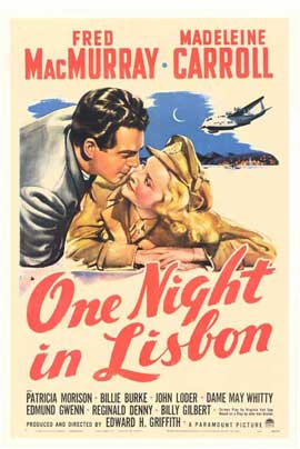 One Night in Lisbon - 11 x 17 Movie Poster - Style A