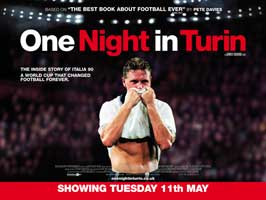 One Night in Turin - 30 x 40 Movie Poster UK - Style A