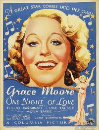 One Night of Love - 27 x 40 Movie Poster - Style A