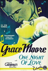 One Night of Love - 11 x 17 Movie Poster - Spanish Style A