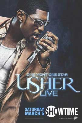 One Night One Star: Usher Live - 11 x 17 TV Poster - Style A