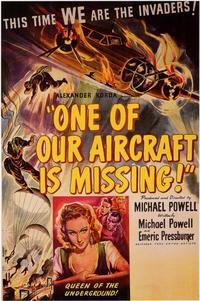 One of Our Aircraft Is Missing - 11 x 17 Movie Poster - Style A