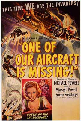 One of Our Aircraft Is Missing - 27 x 40 Movie Poster - Style A