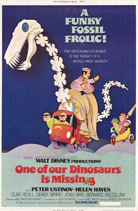 One of Our Dinosaurs Is Missing - 11 x 17 Movie Poster - Style A