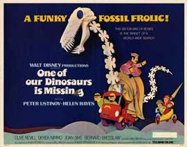 One of Our Dinosaurs Is Missing - 11 x 14 Movie Poster - Style A