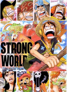 One Piece Film: Strong World - 11 x 17 Movie Poster - Japanese Style D