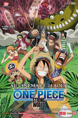 One Piece Film: Strong World - 27 x 40 Movie Poster - French Style A
