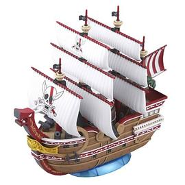 One Piece Movie: The Great Gold Pirate - Grand Ship Collection Red Force Ship Model Kit