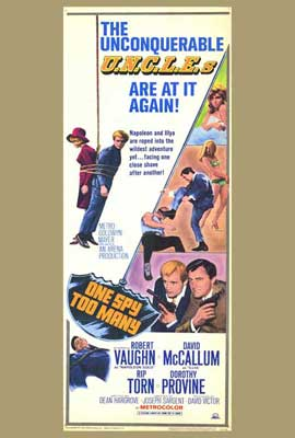 One Spy Too Many - 27 x 40 Movie Poster - Style A