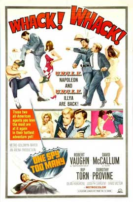 One Spy Too Many - 27 x 40 Movie Poster - Style B