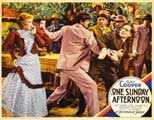 One Sunday Afternoon - 11 x 14 Movie Poster - Style C