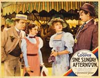 One Sunday Afternoon - 11 x 14 Movie Poster - Style A
