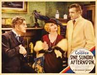 One Sunday Afternoon - 11 x 14 Movie Poster - Style B