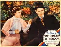 One Sunday Afternoon - 11 x 14 Movie Poster - Style E