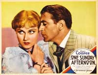 One Sunday Afternoon - 11 x 14 Movie Poster - Style F