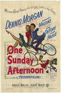 One Sunday Afternoon - 11 x 17 Movie Poster - Style A