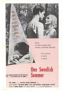 One Swedish Summer - 11 x 17 Movie Poster - Style A