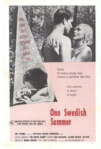 One Swedish Summer - 27 x 40 Movie Poster - Style A