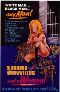 One Thousand Convicts and Woman - 27 x 40 Movie Poster - Style B