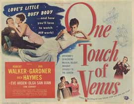 One Touch of Venus - 11 x 14 Movie Poster - Style A