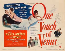 One Touch of Venus - 11 x 17 Movie Poster - Style C