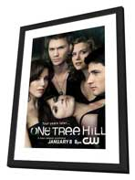 One Tree Hill (TV) - 27 x 40 TV Poster - Style B - in Deluxe Wood Frame