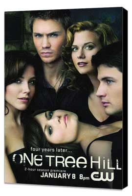 One Tree Hill (TV) - 11 x 17 TV Poster - Style C - Museum Wrapped Canvas