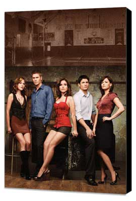 One Tree Hill (TV) - 11 x 17 TV Poster - Style D - Museum Wrapped Canvas