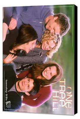 One Tree Hill (TV) - 11 x 17 TV Poster - Style E - Museum Wrapped Canvas