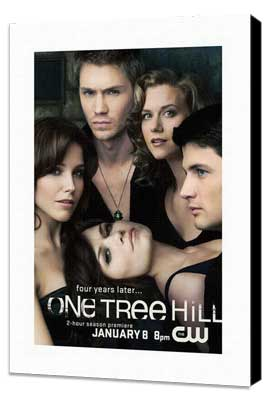 One Tree Hill (TV) - 27 x 40 TV Poster - Style B - Museum Wrapped Canvas