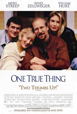 One True Thing - 11 x 17 Movie Poster - Style A