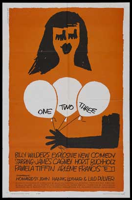 One, Two, Three - 43 x 62 Movie Poster - Bus Shelter Style B