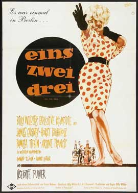 One, Two, Three - 27 x 40 Movie Poster - German Style A