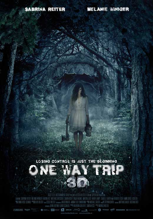 one way trip 3d movie posters from movie poster shop. Black Bedroom Furniture Sets. Home Design Ideas
