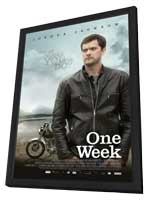 One Week - 11 x 17 Movie Poster - Style A - in Deluxe Wood Frame
