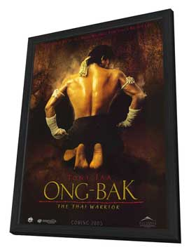 Ong-bak - 11 x 17 Movie Poster - Style A - in Deluxe Wood Frame
