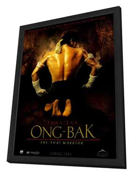 Ong-bak - 27 x 40 Movie Poster - Style B - in Deluxe Wood Frame