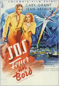 Only Angels Have Wings - 27 x 40 Movie Poster - German Style A