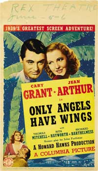 Only Angels Have Wings - 20 x 40 Movie Poster - Style A
