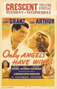 Only Angels Have Wings - 27 x 40 Movie Poster - Style A