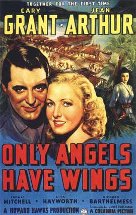 Only Angels Have Wings - 11 x 17 Movie Poster - Style B