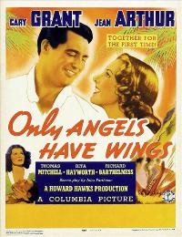 Only Angels Have Wings - 11 x 17 Movie Poster - Style D