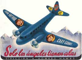 Only Angels Have Wings - 27 x 40 Movie Poster - Spanish Style A