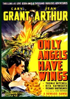 Only Angels Have Wings - 11 x 17 Movie Poster - Style E