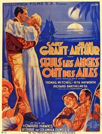 Only Angels Have Wings - 11 x 17 Movie Poster - French Style A